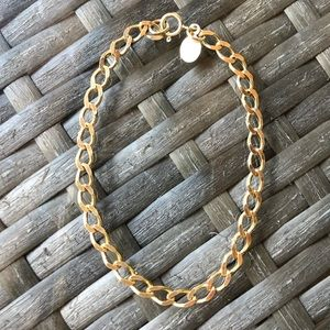 Jewelry - Sterling Silver/Gold over Bracelet